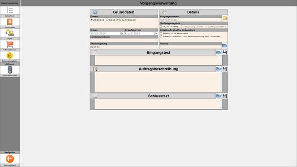 Grundfunktionen Funktionierteinfach Software